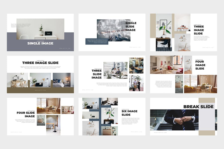 Netto : Architecture and Real Estate Powerpoint - 2