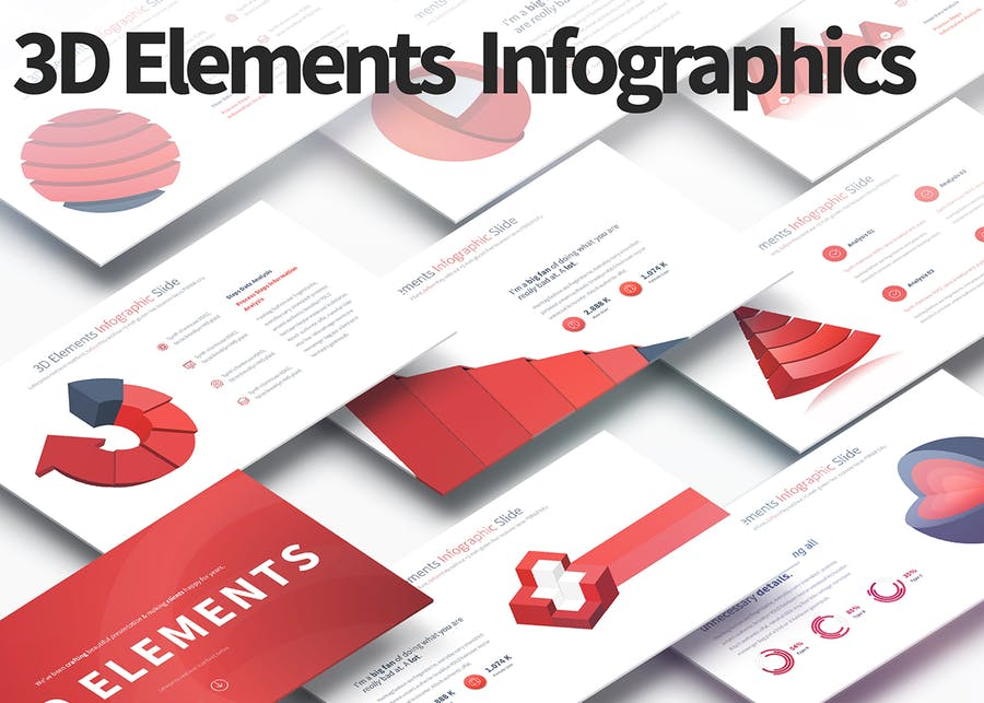 BUNDLE - PowerPoint Infographics Slides - 0