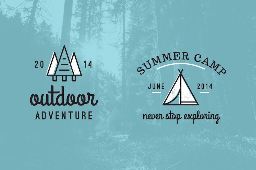 Outdoor Adventure Logos - 1