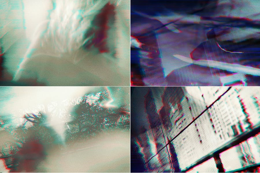 Glitch Abstract Background Images - 2