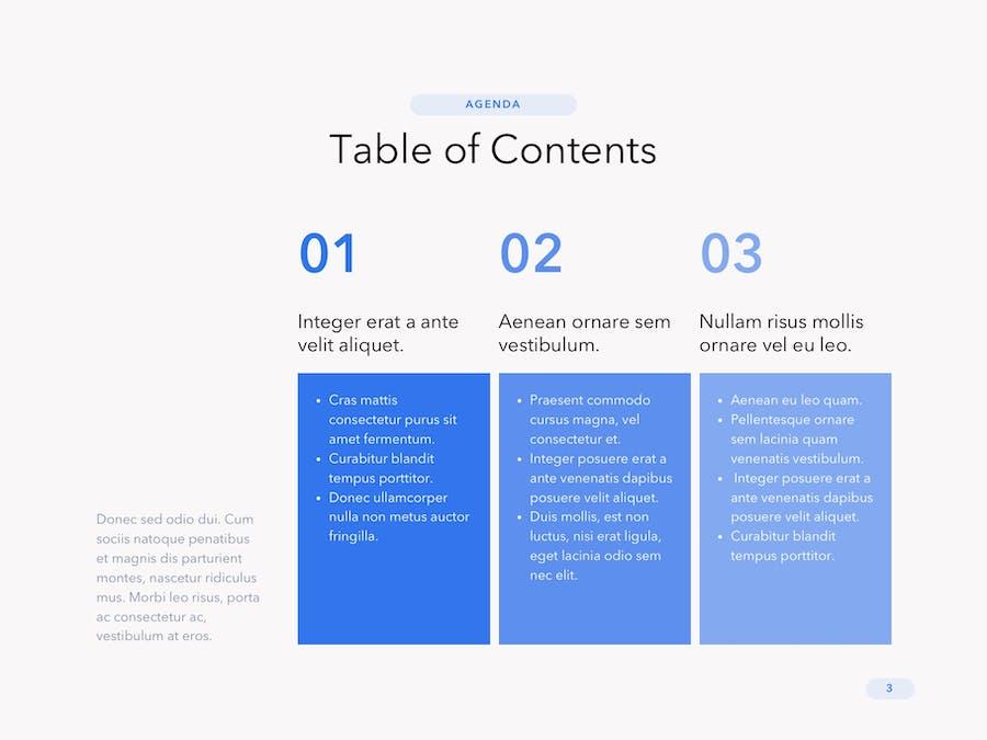 Cobalt Business PowerPoint Template - 2