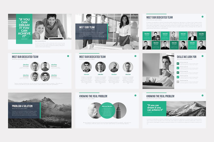 Professional Keynote Template - 1