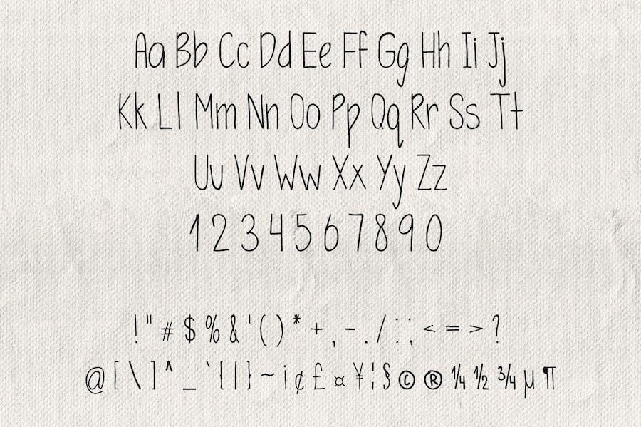 Simplicity Typeface - 1