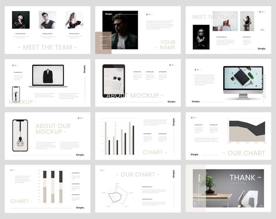 Kouri - Minimal PowerPoint Template - 2