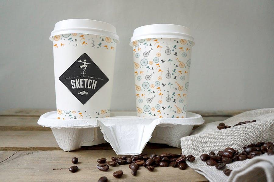 Coffee Cup Mockup - 1