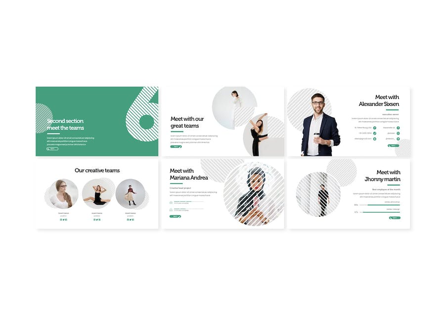 Six - Powerpoint Template - 1