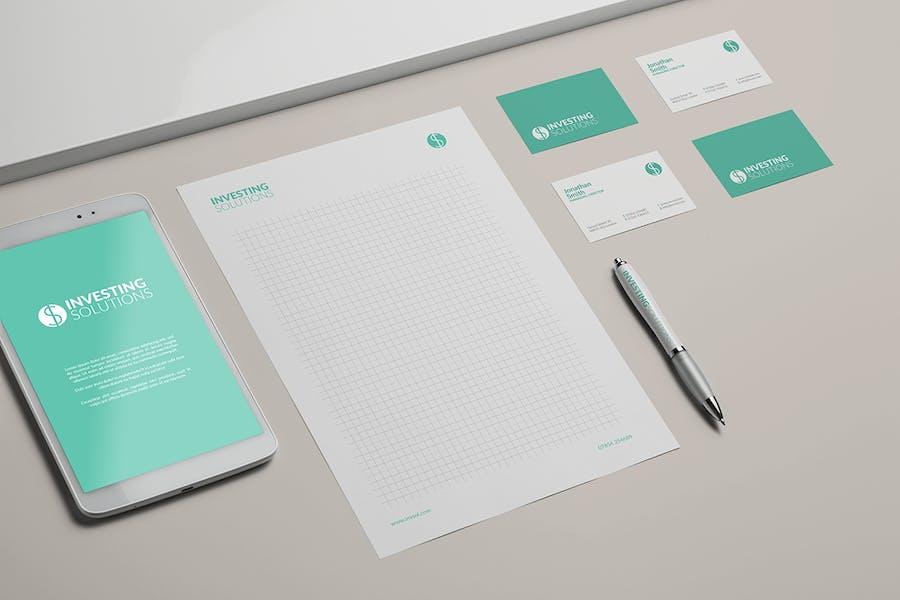 Branding / Identity Mock-up - 2