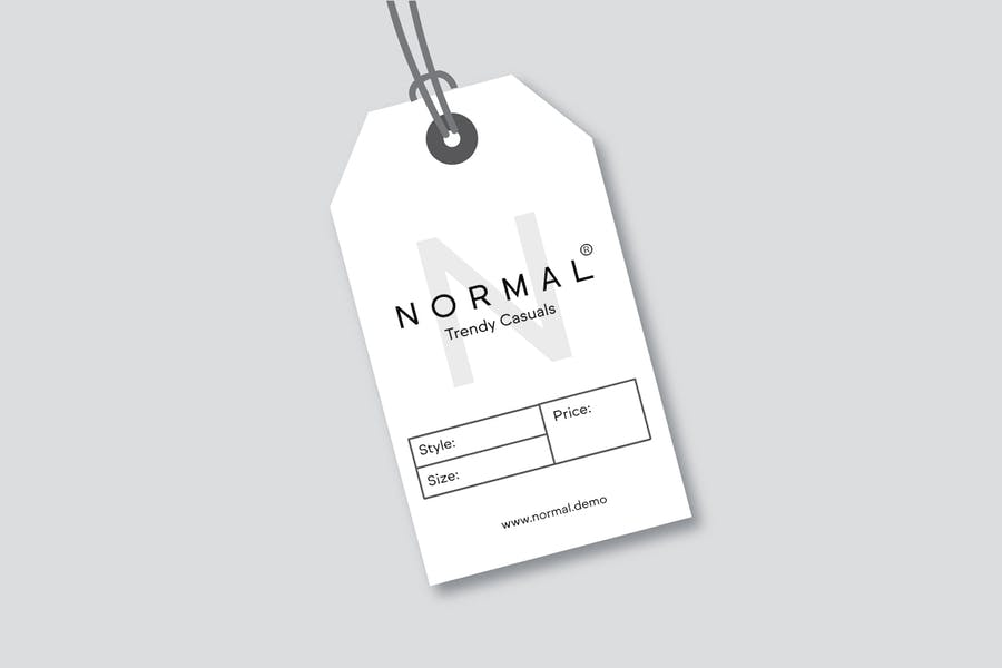 NORMAL - Minimal Sans Serif Typeface + WebFonts - 2