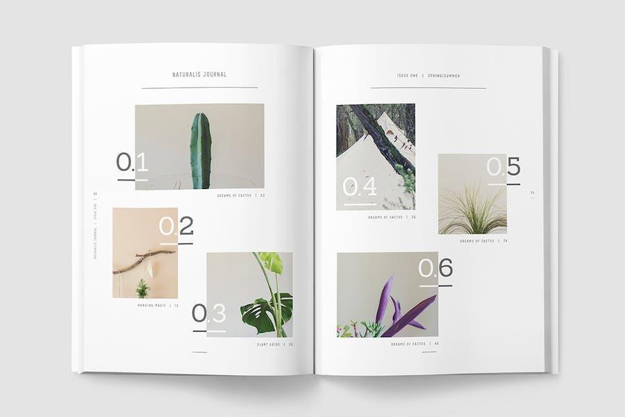 NATURALIS Lookbook / Magazine - 2