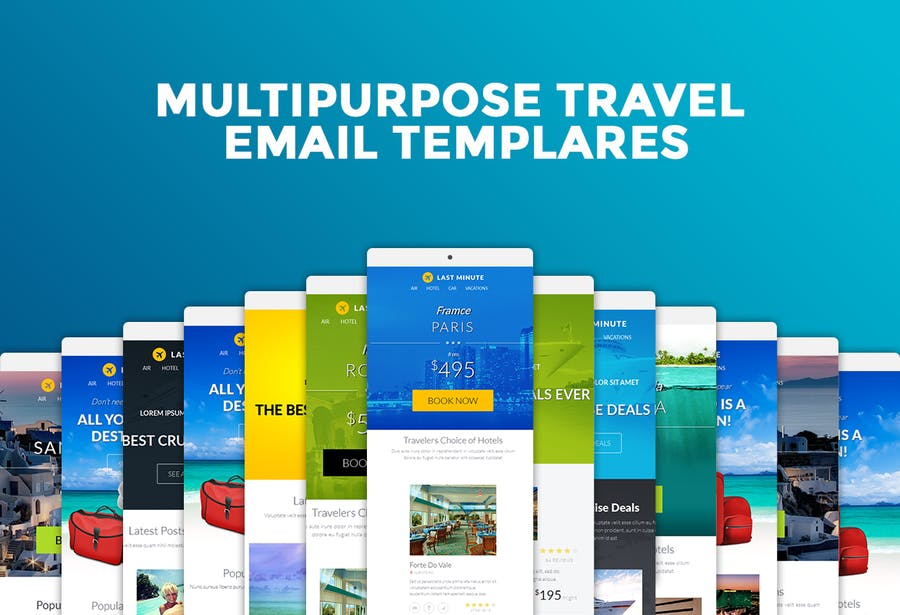 Last Minute Multipurpose Email Template - 0