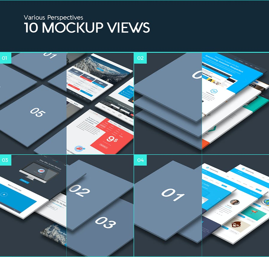 The Perspective Website Mockup - 1