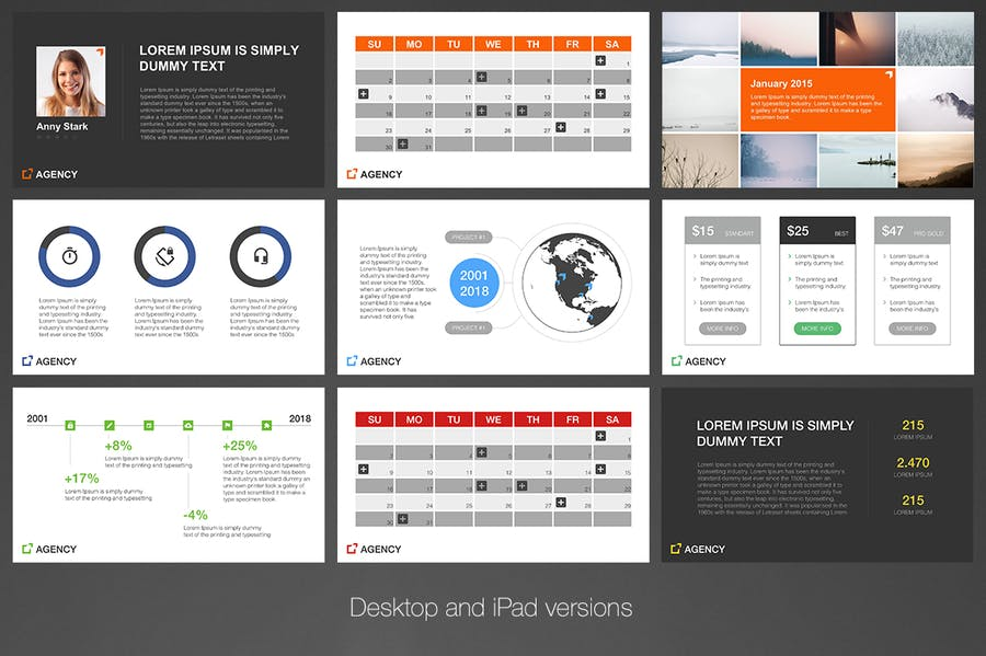 Agency PowerPoint Template - 3