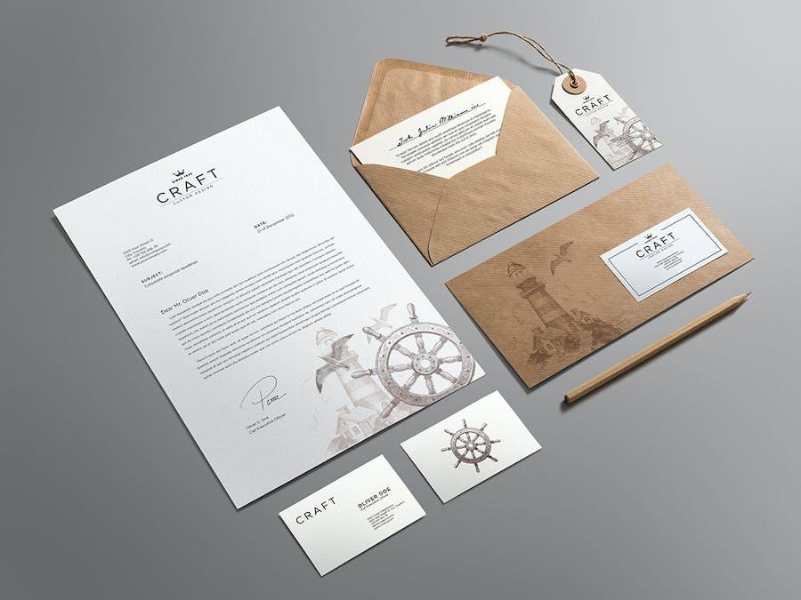 Craft Branding Mockup - 3