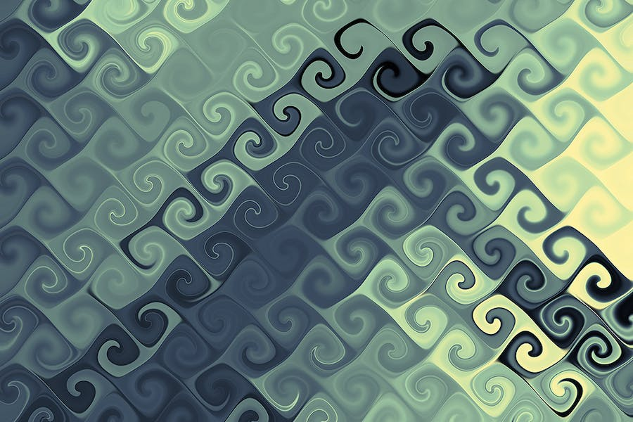 Curly Backgrounds - 0