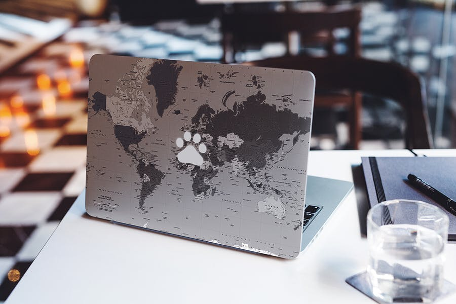 MacBook Skin Mock-Up - 3
