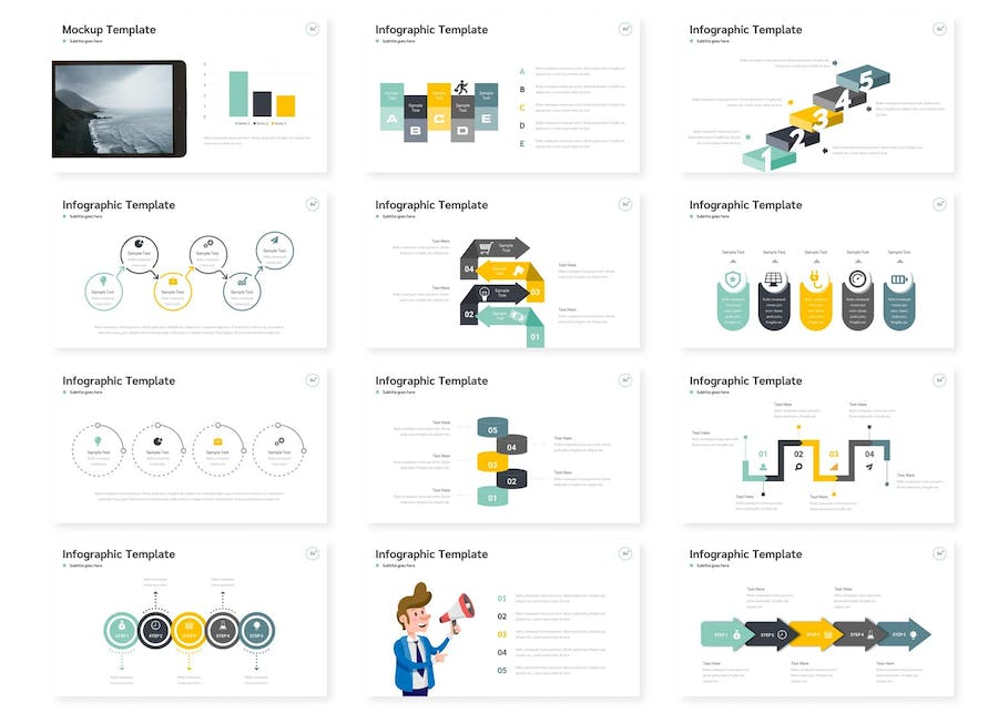 Be+Plus - Powerpoint Template - 1