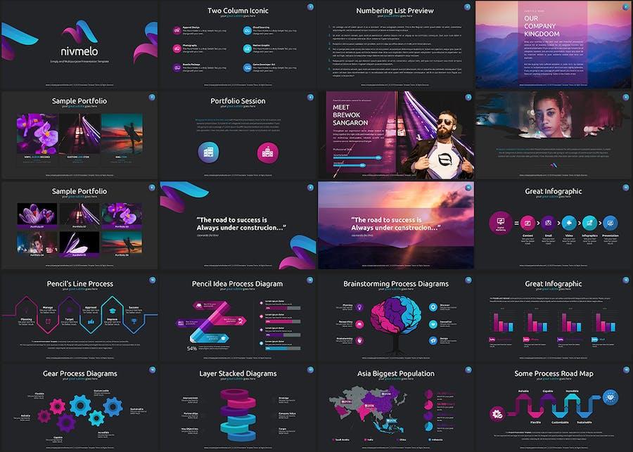 Nivmelo - Google Slides Template - 0