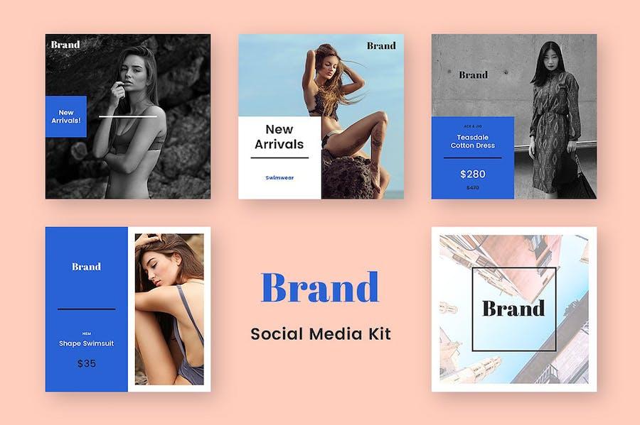 Brand Social Media Kit - 0