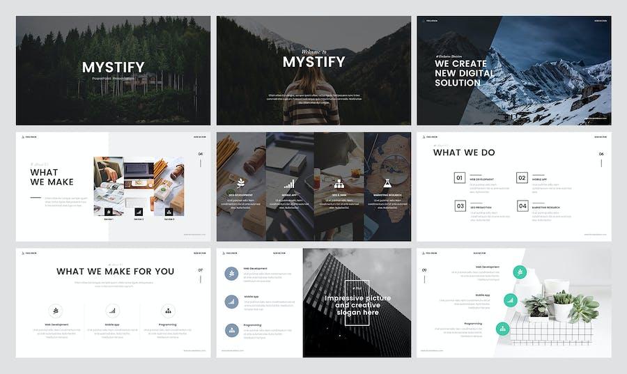 Mystify Presentation - 0
