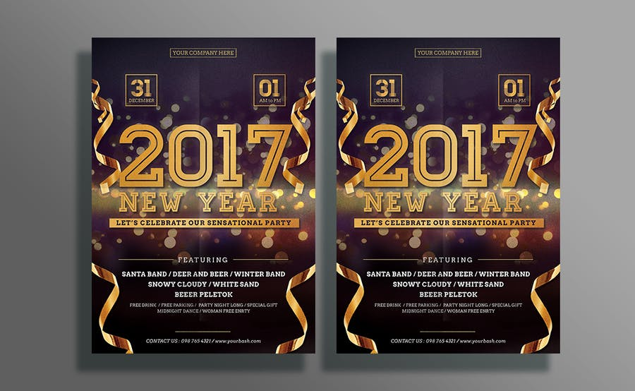 New Year Flyer - 1