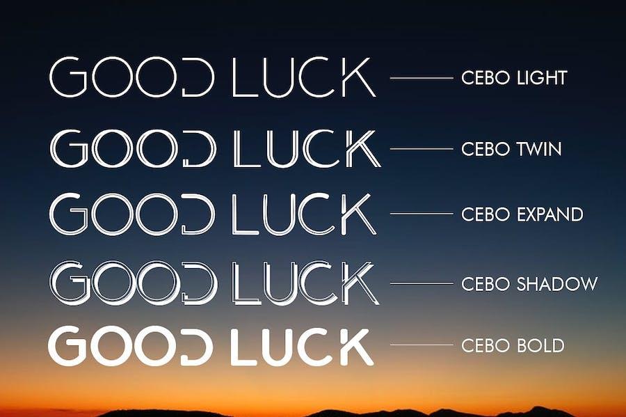 Cebo Font - 3