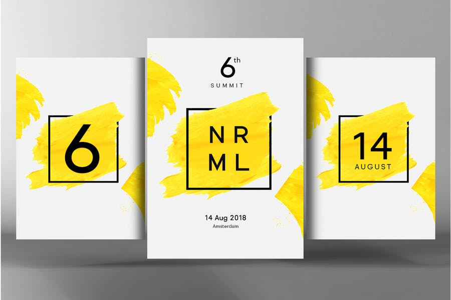 NORMAL - Minimal Sans Serif Typeface + WebFonts - 3