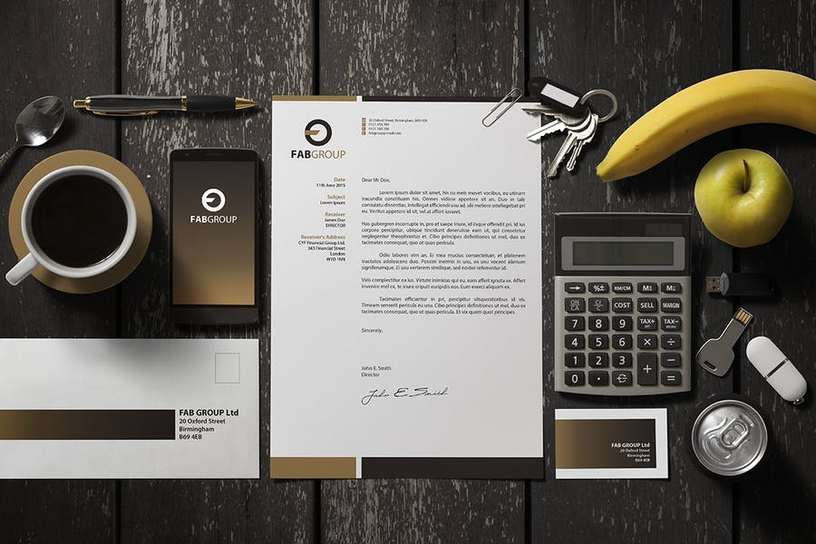 Branding / Identity Scene Creator - 3