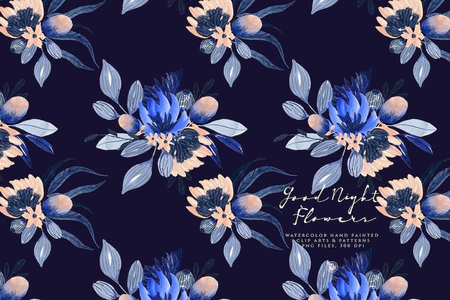 Good Night Flowers - 1