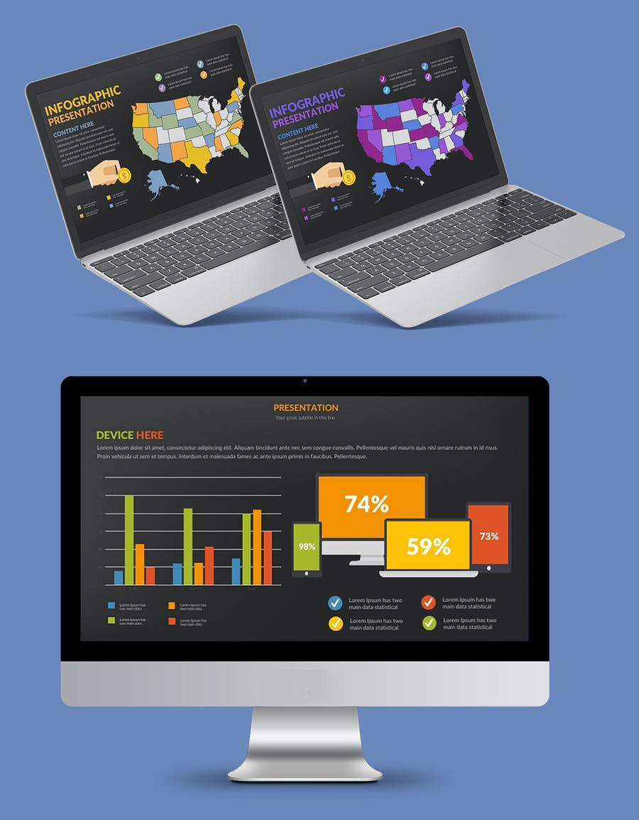 Infographics Slides Powerpoint Presentation - 2