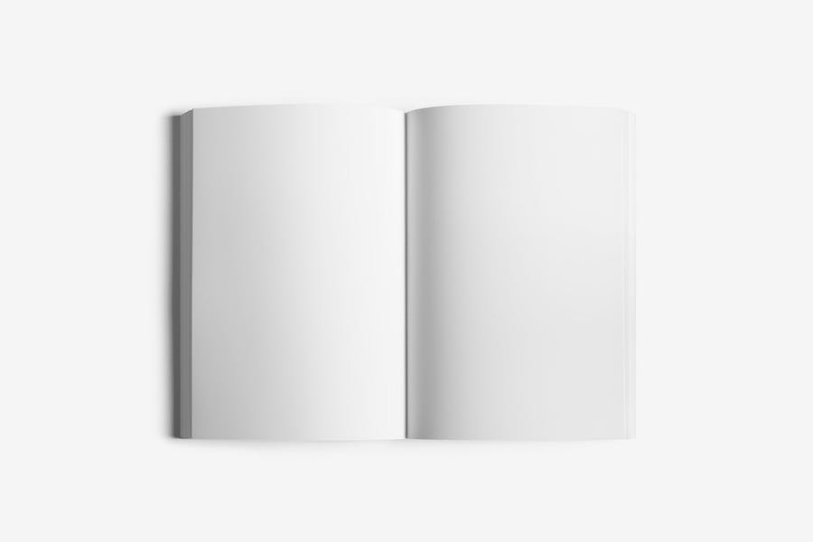 Soft Cover Book Mockup - 3