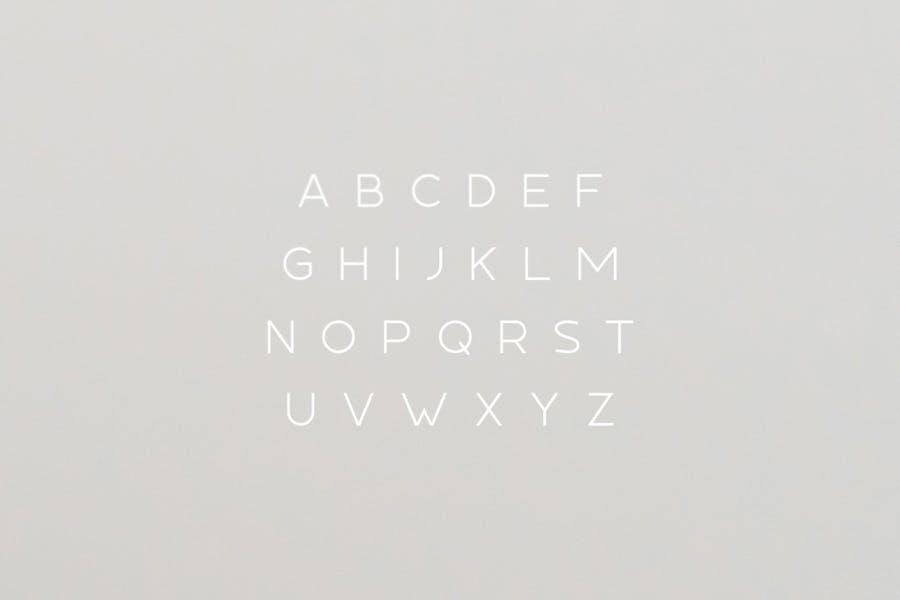 Tundra Typeface - 0