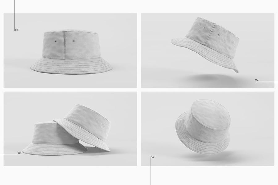 Bucket Hat Mockup Pack - 1