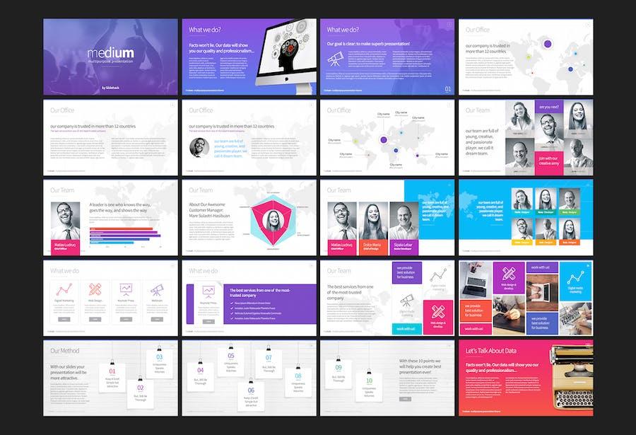 Medium - Presentation Template - 0
