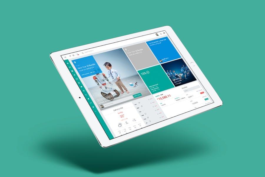 Webarch - Responsive Admin Dashboard Template - 2