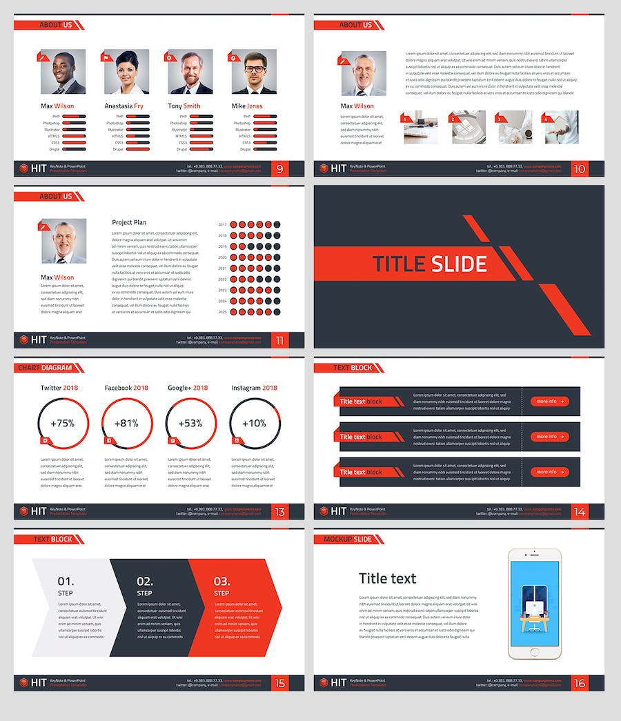 HIT - Professional PowerPoint Template - 2