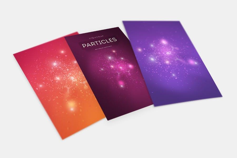 Light Particles Backgrounds - 0