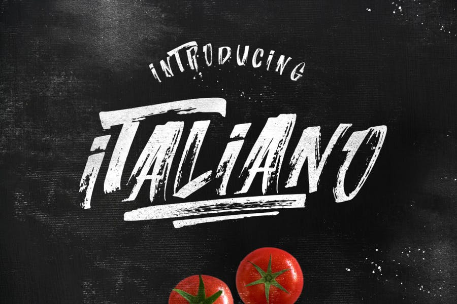 Italiano Brush Font - 0