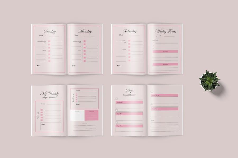 Daily Planner Workbook - 2