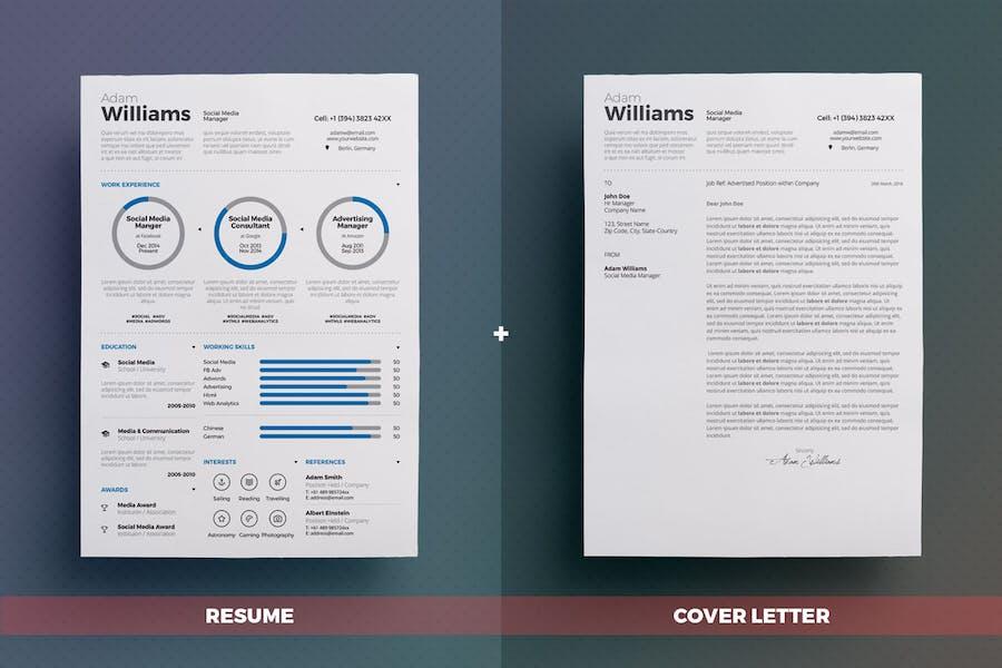 Infographic Resume/Cv Volume 3 - 1
