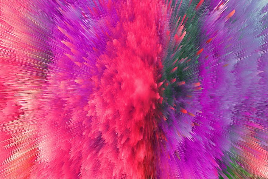 Explosion of Colorful Dust Backgrounds - 3